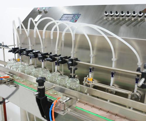 8头磁力泵自动灌装机