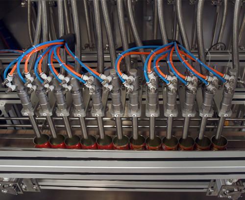 全自动铁罐转弯PET生产线